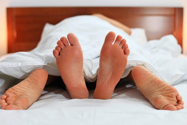 Sex Bed Feet - Shutterstock
