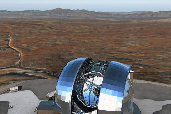DSC-FT1119 02- Extremely Large Telescope Chile
