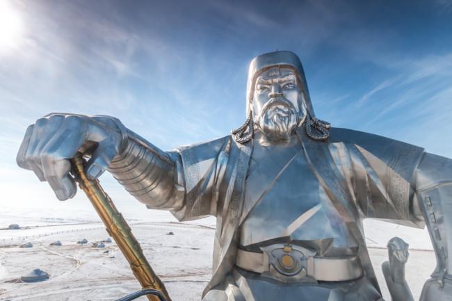Genghis Khan Statue - Shutterstock