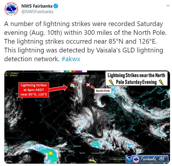 NWSFairbanks Tweet