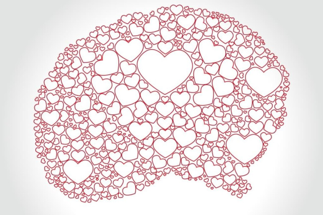 Love Brain Hearts - Shutterstock