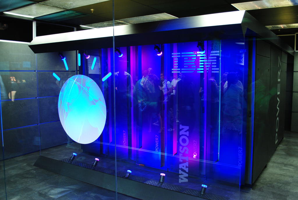IBM's Watson computer is a well-known instance of AI. Credit: Clockready