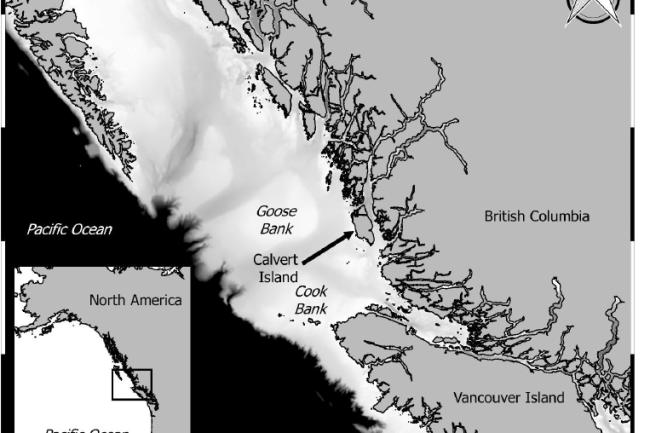 Calvert Island map McLaren