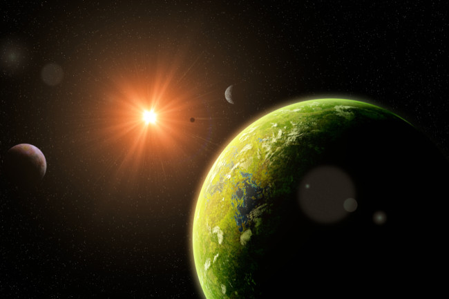 Exoplanet Habitable Alien World - Shutterstock