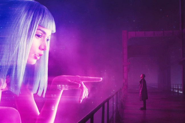 Hologram Blade Runner Future - Warner Bros