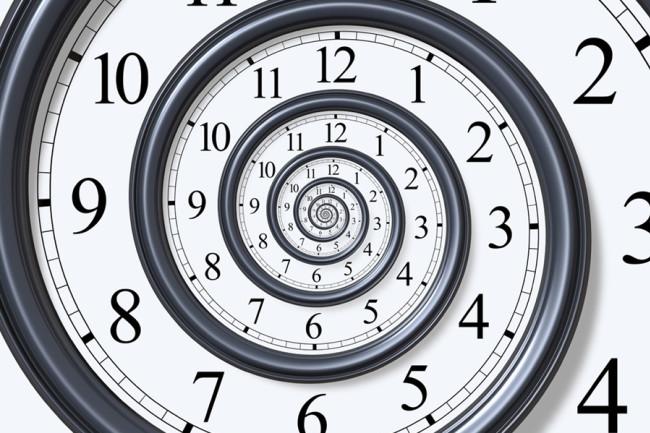 Clock Spiral - iStock