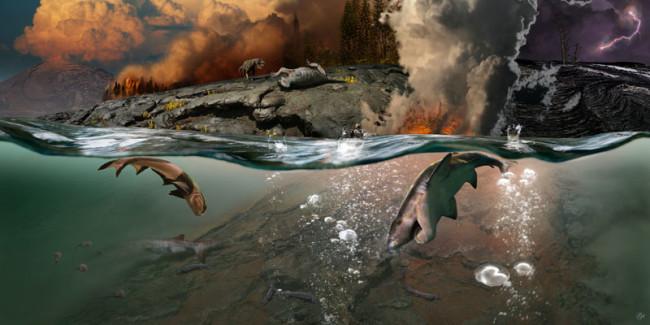 End-Permian Extinction - Julius Csotonyi DSC-C0818 04