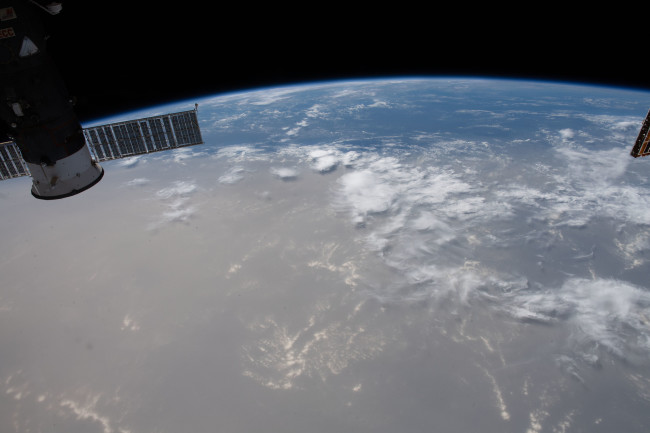 Saharan Dust Cloud Seen From International Space Station