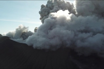 Check Out Drone Footage of Kirishima's Largest Eruption Since 2011