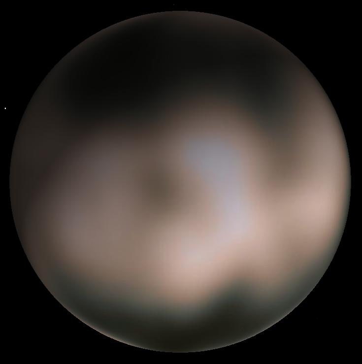 Charon water ice Buie