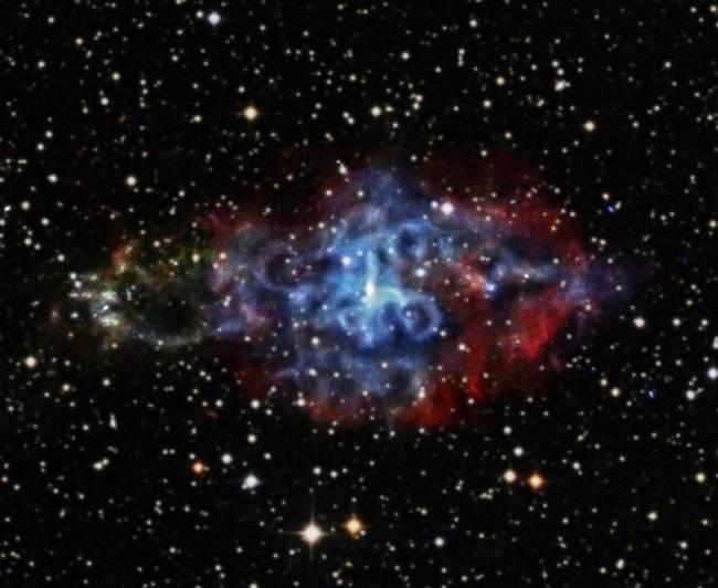 supernova 3c58 nasa chandra