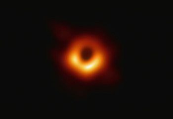 Story of the Year: Humanity's First Look at a Black Hole