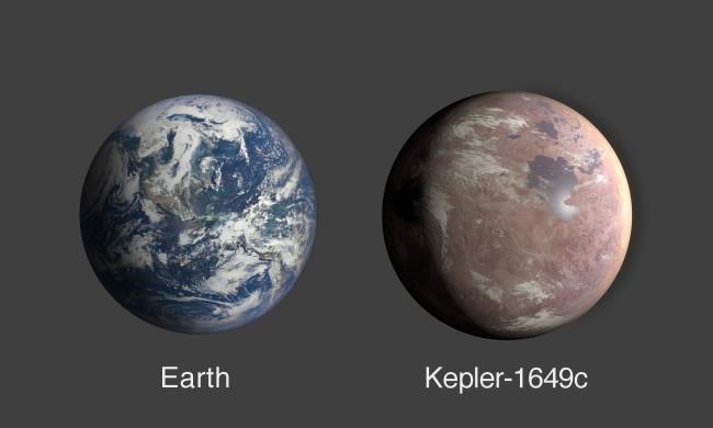 Earth vs. Kepler-1469c