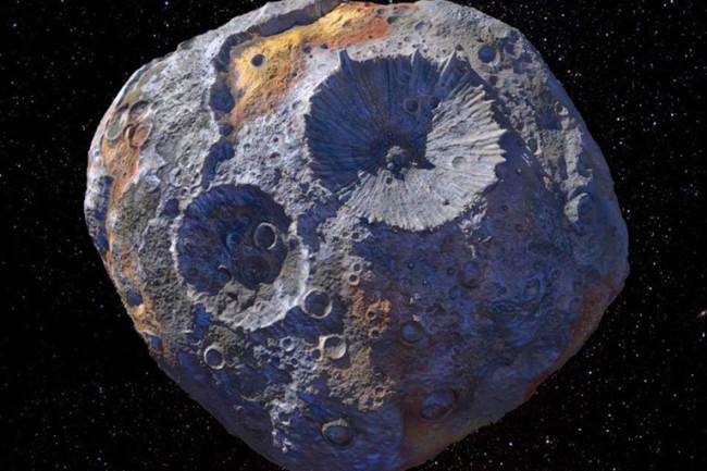 Psyche 16 Asteroid - NASA