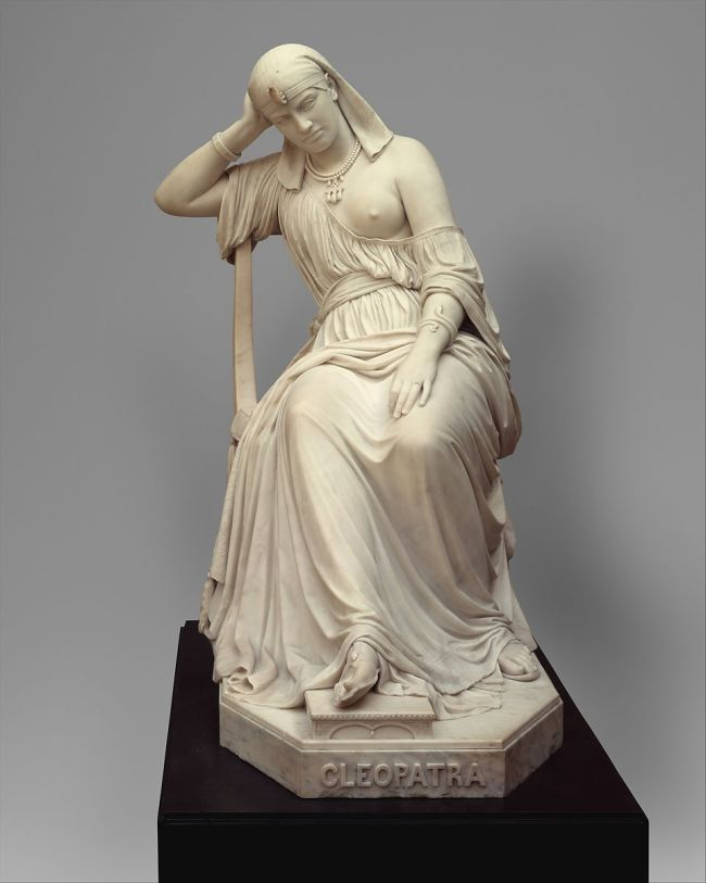 William Wetmore Story Cleopatra - Public Domain
