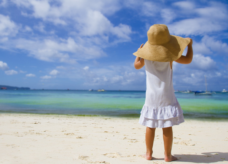 She has all the summer time in the world. (Credit: Shutterstock)