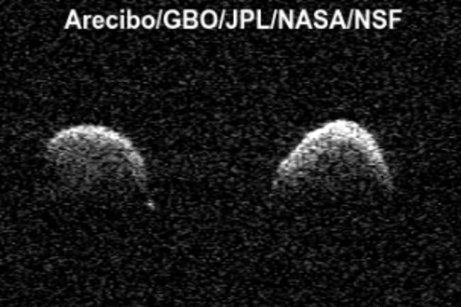 Arecibo Asteroid