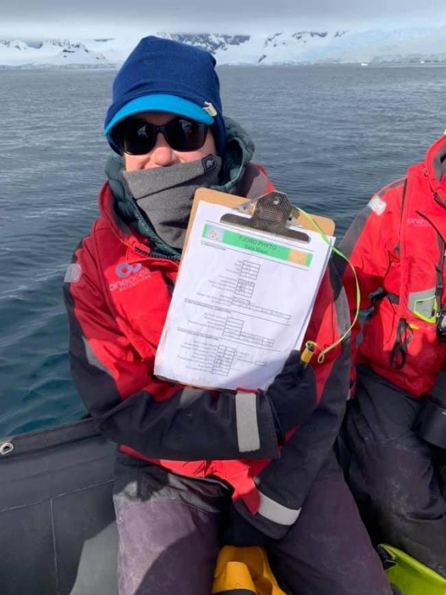 FjordPhyto Citizen Scientist - Verena Meraldi & Allison Cusick
