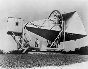 The fifty-foot Holmdel Horn antenna