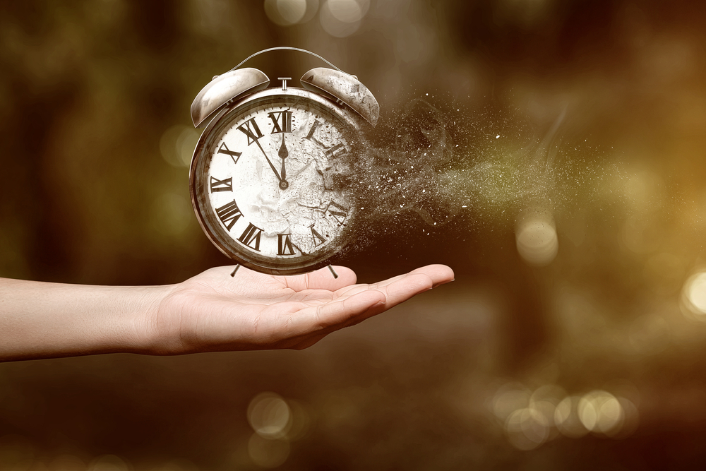 The Arrow of Time? It's All in Our Heads