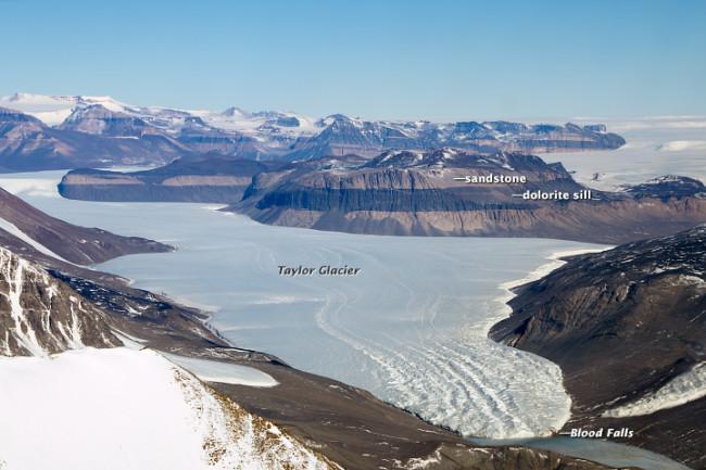 Taylor Glacier - Wikimedia Commons