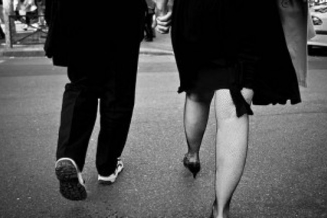 Couple Walking - flickr