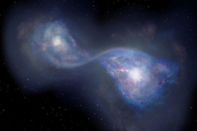 Hashimoto B14 Merging Galaxies - NAOJ