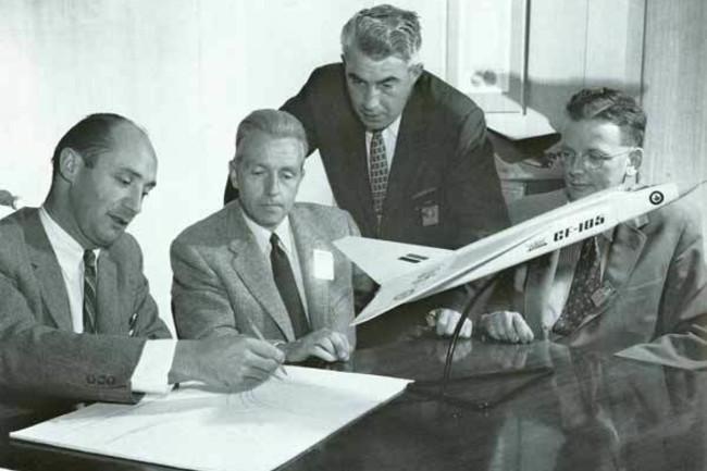 Avro Arrow Engineers Lindley Floyd Hake Chamberlin - SCAA