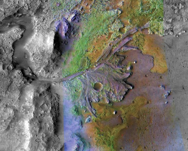 jezero crater mars 2020 landing