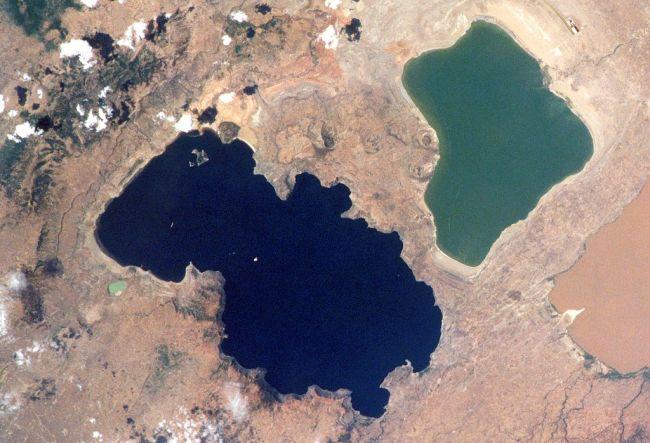 O'a caldera in Ethiopia