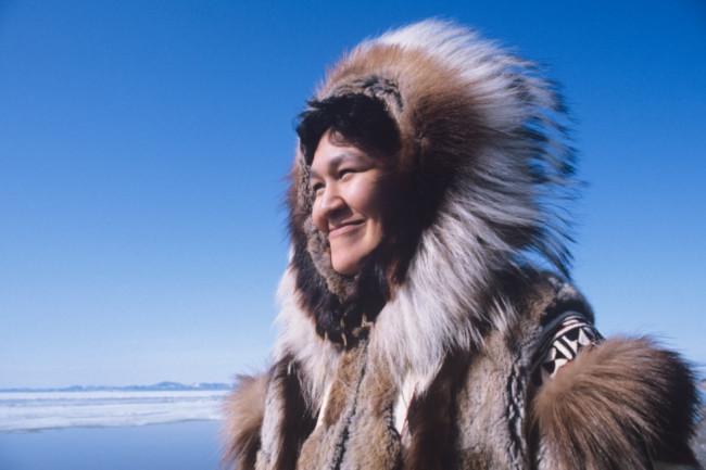 Inuit Woman - Shutterstock