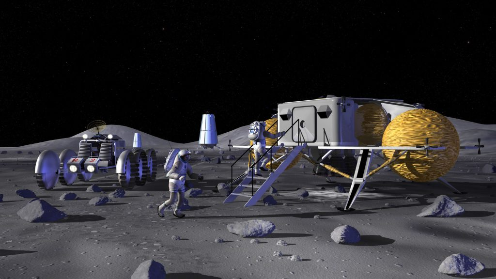Entering a Lunar Outpost - NASA
