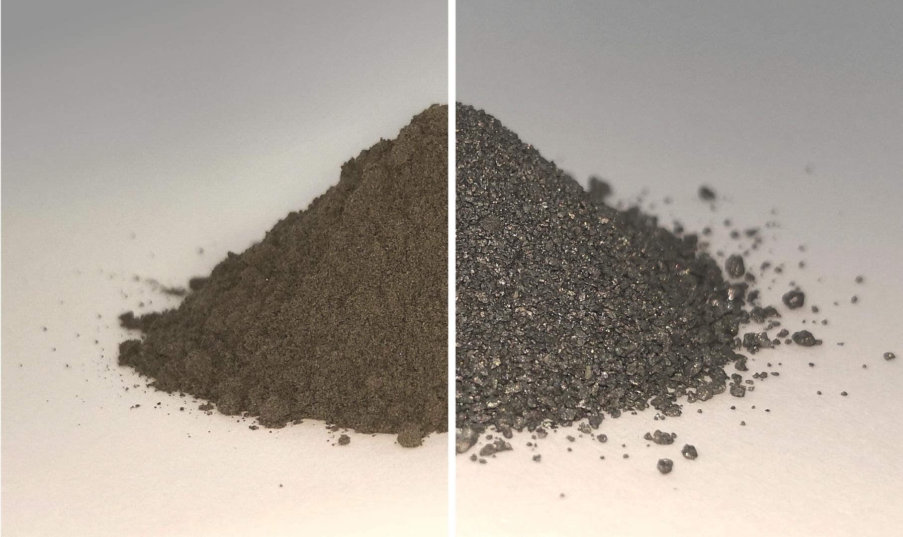 Oxígeno y metal de los pilares del regolito lunar.
