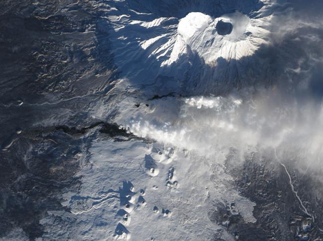 Tolbachik 2012-13 Eruption - NASA