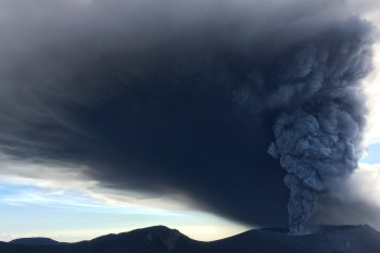 Kirishima in Japan Erupts for the First Time Since 2011