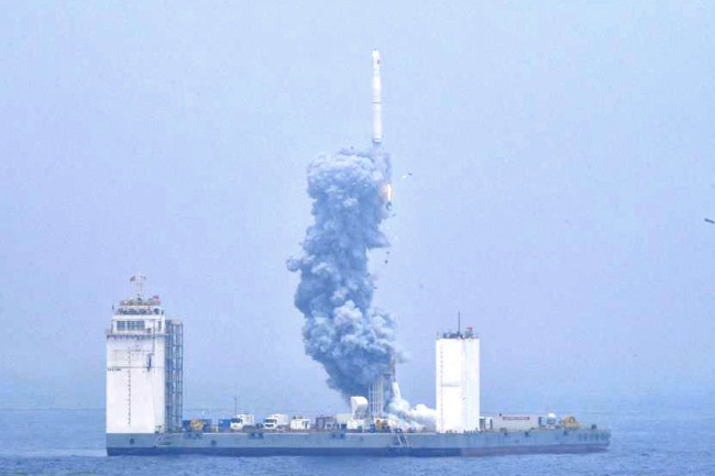 China Sea Launch - Xinhua News Agency