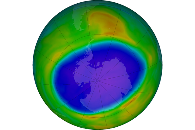 Dramatic Turn-About: 2020's Antarctic Ozone Hole is Large, Deep and Persistent