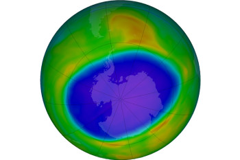 Dramatic Turnabout: 2020's Antarctic Ozone Hole Is Large, Deep, and Persistent