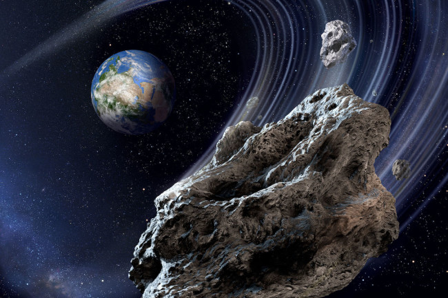 Near-Earth Asteroid - Roen Kelly/Astronomy