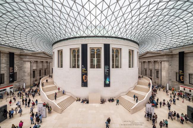 Inside the British Museum - Shutterstock