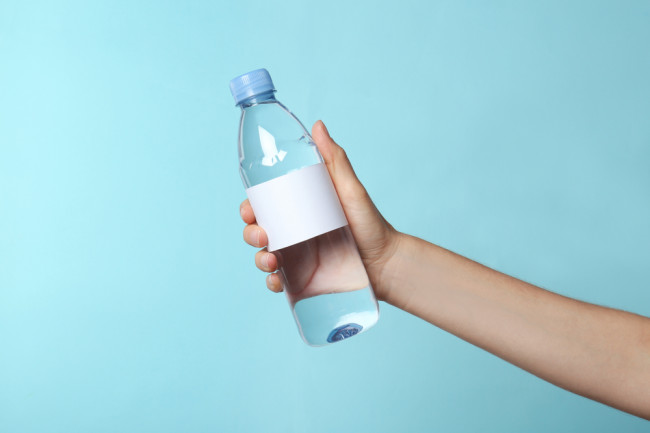 Plastic Water Bottle - Shutterstock