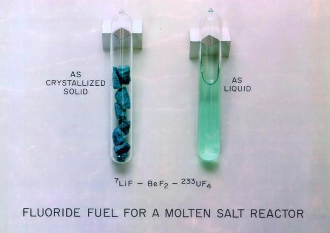 molten salt vials
