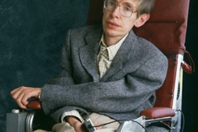 Stephen Hawking 1993 - Getty
