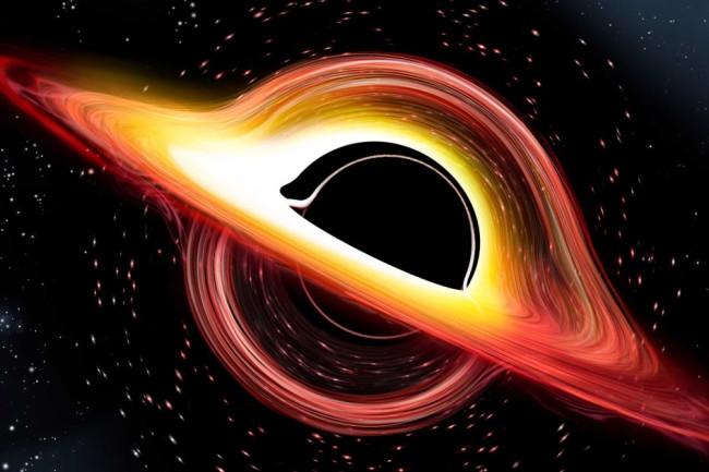 travel through black hole like interstellar