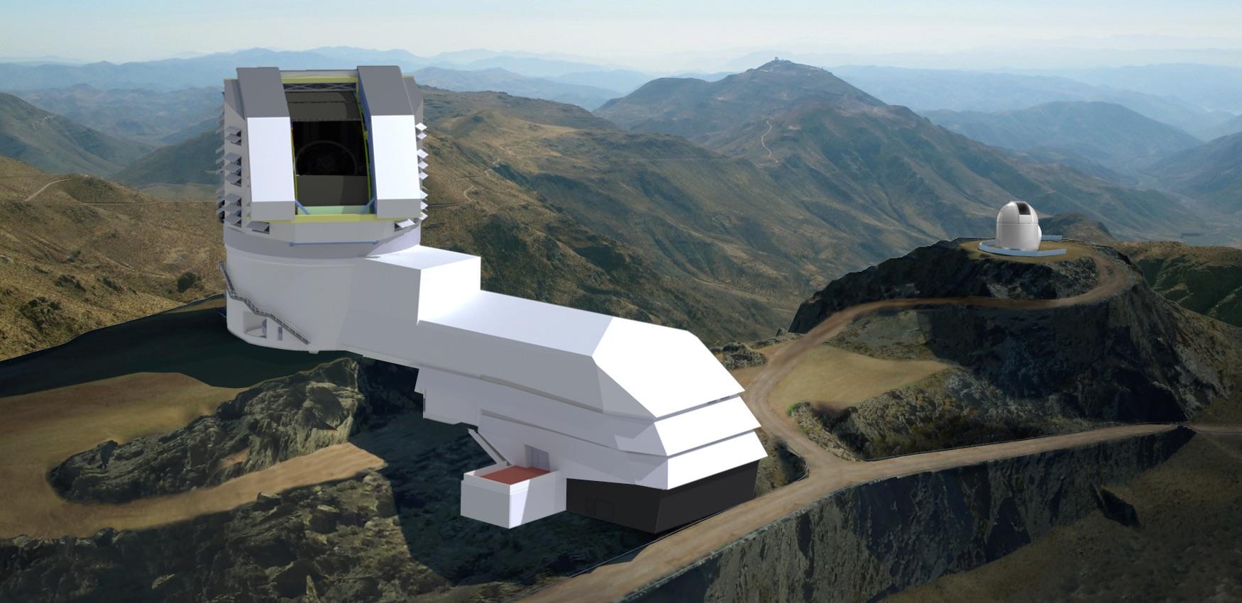 DSC-FT1119 06 Large Synoptic Survey Telescope rendering