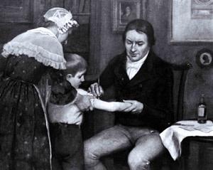 Edward Jenner vaccine - Getty