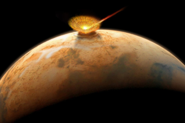 Mars Impact - Don Dixon
