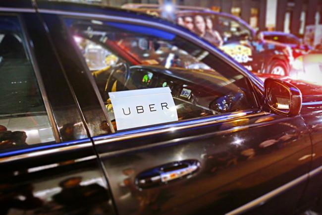 Rideshare Uber - Shutterstock