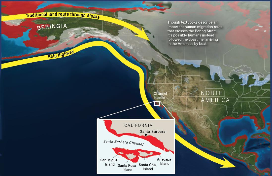 Americas Kelp Highway - Deep Time Maps Mackey Discover