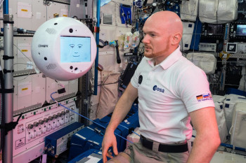 Meet CIMON-2, a New and Improved AI Robot Astronaut